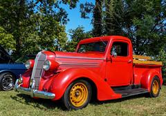 1936 Dodge Pickup Truck (J Wells S) Tags: 1936dodgepickuptruck streetrod dodge hotrod pickup showntellcarshow reading cincinnati ohio