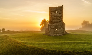 sunrise at knowlton church