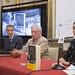 Rueda de prensa 'Conversación en Princeton' de Mario Vargas Llosa con Rubén Gallo.