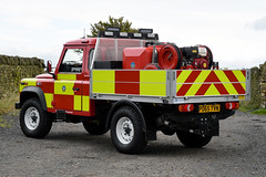 PO65 TVN 02 (IainDK) Tags: west yorkshire fire rescue holmfirth land rover pick up systems wildfire wild high pressure pump imageall imagefireall imagefirela 4x4 off road defender