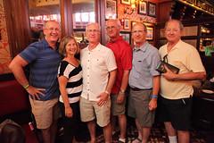 Grandpa Tim with Siblings (Sam Howzit) Tags: waltdisneyworld disneysprings raglanroad grandpatim siblings family