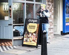 DipStreet Metering Practice (Christian_Davis) Tags: dipstreet metering practice london street people greenhair cider pub