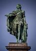 King Gustaf III Statue on Slottsbacken Stockholm Sweden