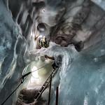 Exploring Roman's Glacier Crevasse thumbnail