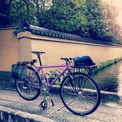 【 練… 】 #vigore #kyoto #PATROL #ride (jun.skywalker (enishi hand made cyclecap)) Tags: instagramapp square squareformat iphoneography uploaded:by=instagram nashville iphone iphone4 vigore kyoto japan bike bicycle kamigamo 社家