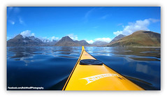 All kayak paddles are created equal, it's just that some are more equal than others. (rawprints) Tags: elgol isleofskye cuillins scotland scottishhighlands kayak seakayak dreampaddle