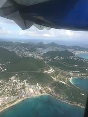 Cay Bay, Sint Maarten, from the air