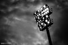 Moody. (R1ku Exposures) Tags: jalkapallo urheilu floodlights lights moody sky skyporn hifk ifk ifkhelsinki sportsphotography sport sports football footballphotography soccer soccerphotography blackandwhite