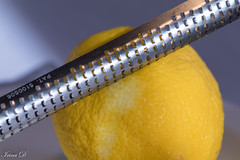 Found in the kitchen   MM (Irina1010) Tags: lemon grater metal rind flavor fruit citrus macro yellow macromondays memberschoicefoundinthekitchen canon