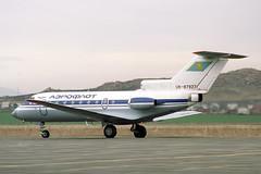 UN-87927 Yakovlev Yak-40K Aeroflot (pslg05896) Tags: ukk uask ustkamenogorsk oskemen un87927 yakovlev yak40 aeroflot
