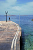 Lines (fotoservice18) Tags: seaside streetphoto seascape landscape outdoor sky malta north nord light lampione point thinking lonely mare