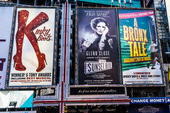 New York Theater District (Manny Esguerra) Tags: outdoors cityscape newyork timessquare travel city