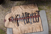 Cadillac tool set (jbp274) Tags: upton maine cadillac tools wrench leather hammer