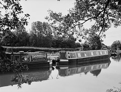 The Macclesfied Canal at Higher Poynton (Cross Duck) Tags: zenzabronica bronicaetrs ilfordfilm ilfordfp4 kodakxtol canoscan8800f