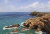 No, not some mediterranean island (grobigrobsen) Tags: sea coast ocean cliffs sky landscape bight pembrokeshire wales cymru unitedkingdom britain greatbritain travel horizon martinshaven rocks waves hiking