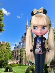 Home Sweet Home loves Tokyo Disney Resort!! Wearing her favourite Shanghai Disney Resort Barbie outfit.