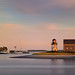 Hyannis Harbor Light at Sunset