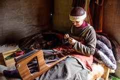 Viking Village 10 (allybeag) Tags: largs vikingvillage crafts historical reenactment weaving