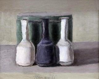 IMG_2557C Giorgio Morandi. 1890-1964. Bologne. Still Life. 1957.    Turin Galleria d'Arte Moderna e Contemporanea.