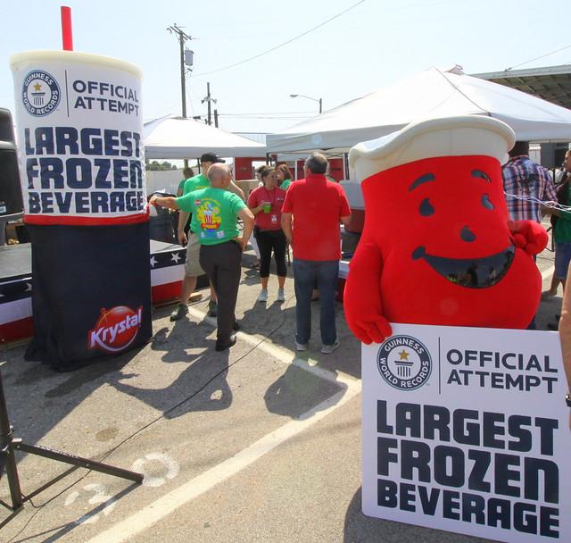 2017 TN State Fair: World's Largest Frozen Beverage