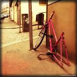 final road -pink bicycle thumbnail