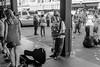 Street Guitar (Kanger328) Tags: photography streetphotography monochrome seattle pikeplace washington