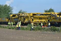 17.01.2017 (III); Botsing werktreinen bij Venray (chriswesterduin) Tags: venray botsing werktrein swietelsky trein train derailed ontsporing