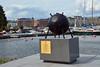 Demining Monument (JohntheFinn) Tags: helsinki suomi finland europe nordic summer kesä island saari archipelago saaristo katajanokka coast sea meri itämeri balticsea gulfoffinland suomenlahti mine miina