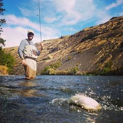 IMG_20171001_200439_465 (Red's Fly Shop) Tags: wadefishing yakimacanyon nymphfishing yakima river