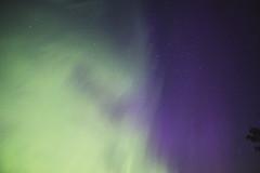 swirl of green (ztsmith2) Tags: night aurora northern lights stars dark travel keweenaw lake superior michigan peninsula puremichigan pure space trees beach sky blue oxygen nitrogen pink green north silloutte person best ever streaks light house pillars calumet water cold cool kp 7 weather storm aurorastorm g3 orange