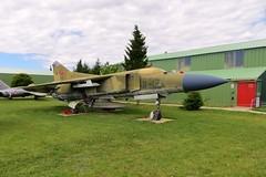 20+03 / 582 MiG-23 MF @ Musée Européen de l'Aviation de Chasse 15th June 2016 (_Illusion450_) Tags: aérodromedancone montélimar muséeeuropéendelaviationdechasse 150616 museum lflq xmk aeroplane aviation avion aircraft airplane flugplatz 2003 582 mig23mf mig23