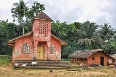 Rural church near Harper