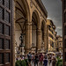Loggia dei Lanzi from Palazzo Vecchio