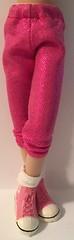 Shimmering Pink...Leggings For Blythe...