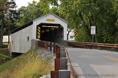 Kellers Mill Covered Bridge (Paula Stephens) Tags: covered bridge americana historic landmark building structure road transportation vintage rural ephrata lancaster pennsylvania