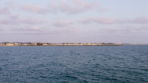 Looking back towards Fremantle