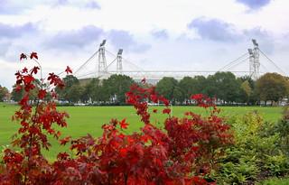 Autumn near Preston North End Stadium