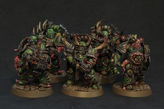 Death Guard Plague Marine Squad (luferox) Tags: 40k warhammer warhammer40k wh40k deathguard spacemarines plaguemarines