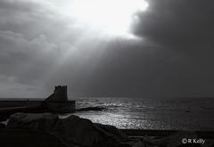 Dark Storm (RobK5) Tags: storm weather blackandwhite mono ayrshire landscape scene