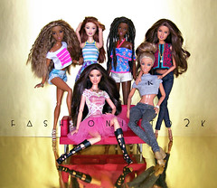 Mi Gente (fashionisto2k) Tags: f2k barbie dolls fashionistas
