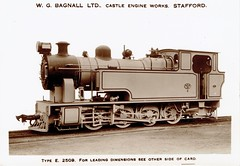 William Bagnall - BSR (India) 0-8-0ST steam locomotive Nr. 51 (E2509) (HISTORICAL RAILWAY IMAGES) Tags: bagnall steam locomotive india 080 bsr
