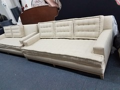 CustomSofa  French Mattress/ thread Tufted