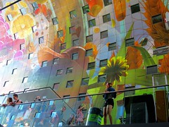 In the Sky...... (CosmoClick) Tags: rotterdam markthal market hall markethall colours cosmoclick