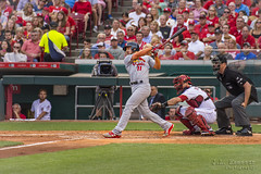 Home Run Swing by Paul DeJong - Cardinals at Reds - Great American Ballpark (J.L. Ramsaur Photography) Tags: jlrphotography nikond7200 nikon d7200 photography photo cincinnatioh thequeencity hamiltoncounty ohio 2017 engineerswithcameras thequeenofthewest photographyforgod thesouth southernphotography screamofthephotographer ibeauty jlramsaurphotography photograph pic cincinnati tennesseephotographer cincinnatiohio thebluechipcity nati thecityofsevenhills queencity porkopolis thenati nastynati cincy greatamericanballpark homeofthecincinnatireds reds cincinnatireds sportsillustrated sportsphotography sports flickrsports stlouiscardinals cardinalsbaseball cardinals field cardinalred saintlouiscardinals stl cards game baseball america'spastime mlb majorleaguebaseball pauldejong 11 rookie homerunswing homerun homerunswingbypauldejong devinmesoraco portrait portraiture baseballportrait portraitphotography goaheadhomerun dejong fans homer