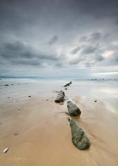 Barrika (Ela Rodríguez) Tags: playa beach nubes cloud barrika españa spain costas