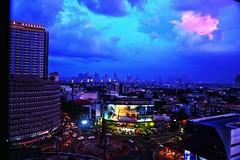Crimson cloud - Manila   Sony ilca - 77m2 Sony DT 16 50mm f/2.8 (somenath2006) Tags: nature sky cityscape manila cloud evening neon sony