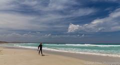 He has the surf to himself... (SarahO44) Tags: australia bay beach board clouds island kangaroo landscape ocean outdoors paradise sand sea sky south surf surfer turquoise vivonne waves vivonnebay southaustralia au lone