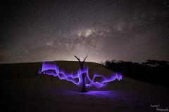 Painted... (pradeep2471989) Tags: canon5dmk2 astrophotography newcastle newsouthwales milkyway galaxy lightpainting landscapephotography wideangle stargazing starstuff longexposure
