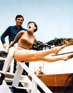 Adam West and Yvonne Craig