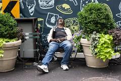 Dreamland (John Fraissinet) Tags: johnfraissinet nyc newyork streetobservationscom dream man montage sleeping streetphotography